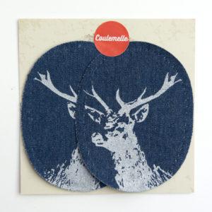 Grand patch en jeans (3 couleurs) – Coulemelle