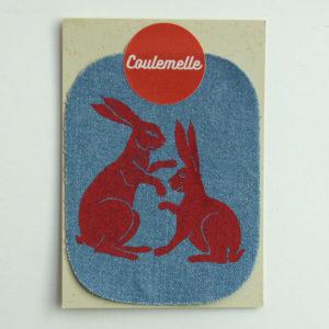 Patch en jeans (3 couleurs) – Coulemelle