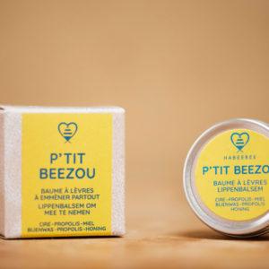 Baume à lèvres bio apaisant belge artisanl savonnerie habeebee bruxelles durable
