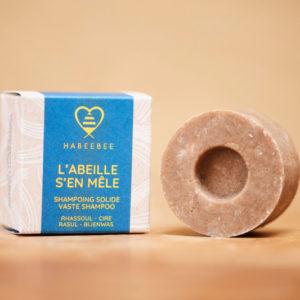 Shampoing solide bio apaisant belge artisanl savonnerie habeebee bruxelles durable