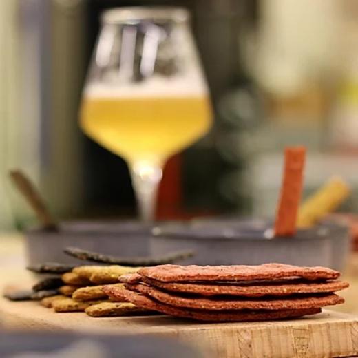 apéro Crackers bio local belge bière Beerfood