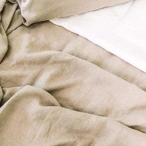 drap Lit sommeil lin