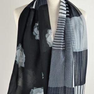 Foulard en soie (134 cm) – Isatio