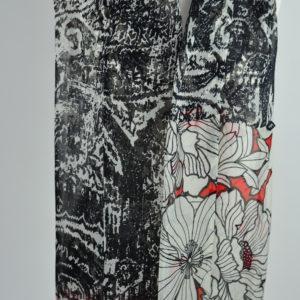 Foulard en soie (214 cm) – Isatio