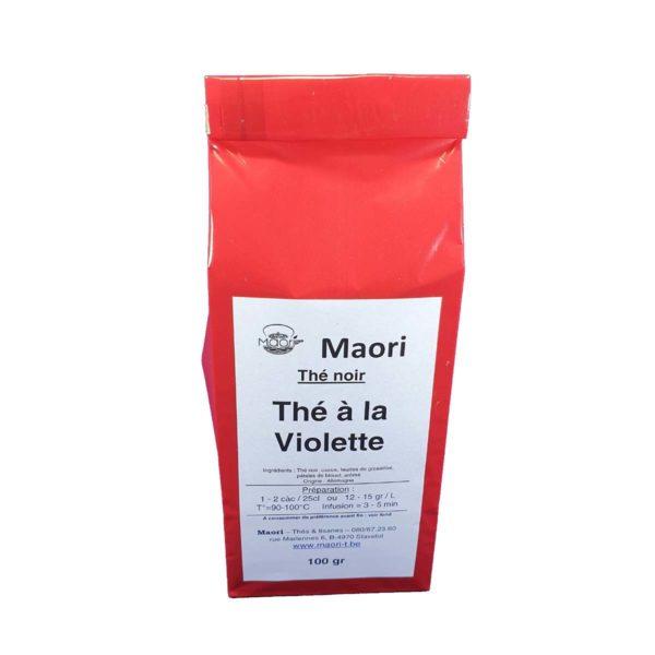 Thé Vert Maori Noir