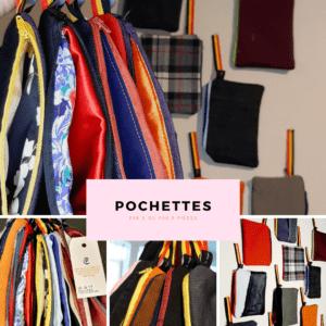 8 pochettes uniques – C.Pouki