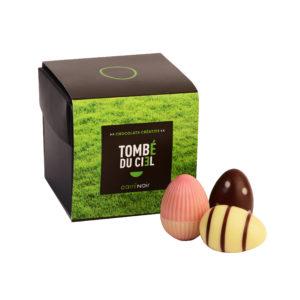 Oeufs chocolat pâques belge