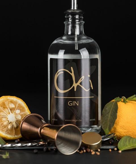 Oki Gin belge artisanal