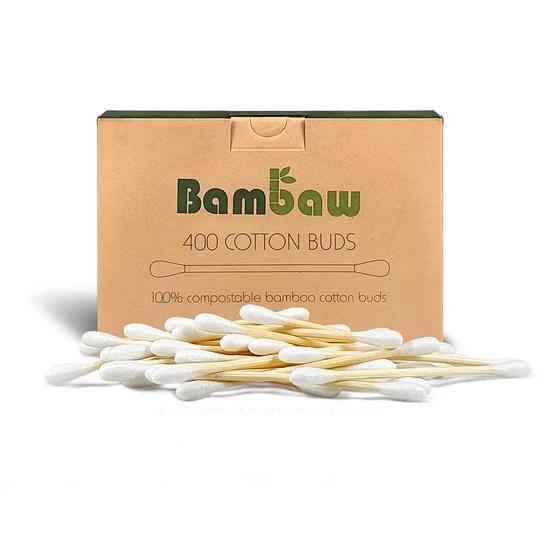 Cotons-tiges bambou écologique