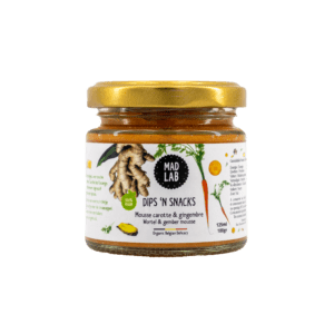 Dips'n Snacks – Mousse carotte & gingembre – MAD LAB