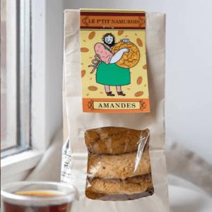 Cookies aux amandes – Le P'tit Namurois